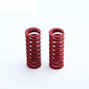 red painting spring for auto parts